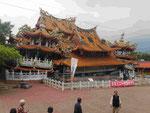 Erdbebenzerstörter Tempel, Taiwan