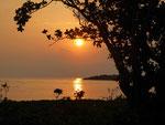 Sonnenuntergang auf Fidschi