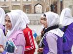 Schülerinnen in Isfahan, I. R. Iran