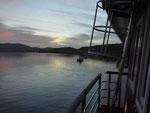 In der Lagune von Knysna am Indischen Ozean, Südafrika