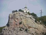 Kapelle an der Südküste der Krim, Ukraine