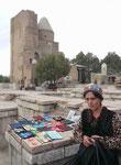 Souvenirverkäuferin in Shakhrisabz,Usbekistan