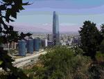 Neues Geschäftsviertel in Santiago de Chile