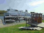Fährschiff in Travemünde