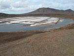 Saline in der Caldeira, Sal, Kapverden