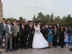 Hochzeitsgesellschaft in Shakhrisabz,Usbekistan