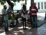 Straßenmusiker in Santiago del Kuba