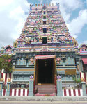 Hindutempel auf den Seychellen