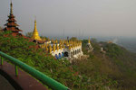 Am Mandalay Hill, Myanmar (Burma)
