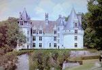 Chateau de Bridoire in der Dordogne, Frankreich