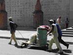 Bauarbeiter in Havanna/ Kuba