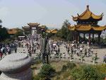 """Beim """"Gelben Kranich Turm"""", Wuhan,  Volksrepublik China"""