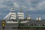 """Gorch Fock"" Bremerhaven Sail 2010"