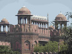 Red Fort, delhi, Indien