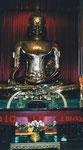 Der 5,5 Tonnen Gold Buddha im Wat Trimitr, Bangkok, Thailand