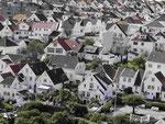 Holzhäuser in der Altstadt von Stavanger, Norwegen