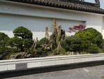 Chinesische Kunstlandschaft in Shanghai, Volksrepublik China