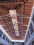 Dach des Mercado Municipal in Mindelo, Kapverden