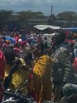 Massai auf dem Markt