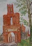 Stadttor in Mittenwalde, Brandenburg