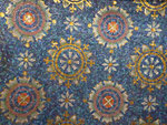 Mosaik im Mausoleum der serbischen Könige, Topola