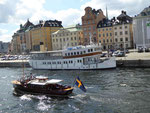 Götakanal-Dampfer in Stockholm