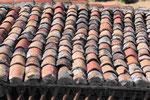 Dach in Meteora, Nordgriechenland