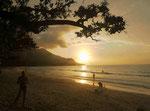 Strand von Beau Vallon, Mahe, Seychellen