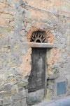 Hauseingang in Alghero, Sardinien/Italien