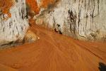Sandsteinformen in Südvietnam