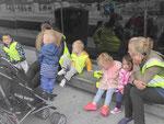 Kitagruppe am Riverside Museum in Glasgow, Schottland