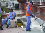 """""""Gastarbeiter"""" in Abu Dhabi, Vereinigte Arabische Emirate (V.A.E.)"""