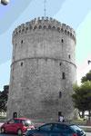 Der weiße Turm aus venezianischer Zeit in Thessaloniki