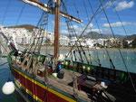 Im Hafen von Los Christianos, Teneriffa, Spanien