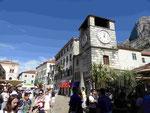 Uhrturm am Waffenplatz in Kotor, Montenegro