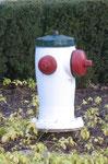Kanada, Burnaby-Hydrant, vor dem Firefighter Club in Burnaby, B.C., Foto Stenschke