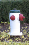 Kanada, Burnaby-Hydrant, vor dem Firefighter Club in Burnaby, B.C., Foto Stenschke