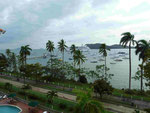 Mündung des Panamakanals am Pazifik
