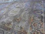Bodenmosaik der Kirche in Aquileia, Italien