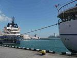 Im Hafen von Jalta, Krim, Uraine