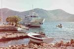 Fähre auf Dugi Otoc, Kroatien