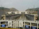 Dreischluchtenstaudamm am Jangtsekiang, V.R. China