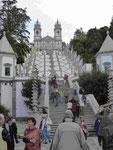 Wallfahrtskirche bei Braga, Nordportugal