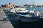 Hafen von Hurghada/Ägypten