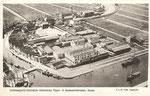 Ansichtkaart met luchtfoto, 1932