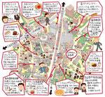 六本木イラストマップ