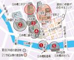 日本橋 イラストマップ