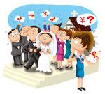 家族 家庭 結婚式