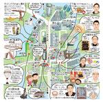 豊洲イラストマップ
