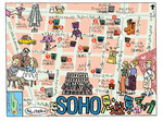 NY SOHO観光マップ